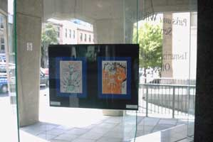 ART IN SHOP WINDOWS - no enlargement